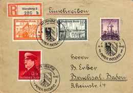 Allemagne Reich 1942 Lettre De Nurnberg    (G0138) - Cartas