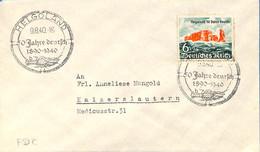 Allemagne Reich 1940  Lettre De Helgoland  (G0141) - Brieven En Documenten