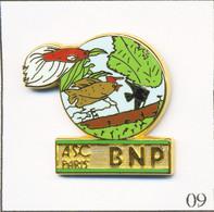Pin's Banque / Assurance - BNP / ASC Paris - Aquariophilie. Estampillé Ballard. Zamac. T738-09 - Bancos