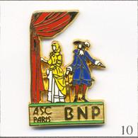 Pin's Banque / Assurance - BNP / ASC Paris - Théâtre. Estampillé Ballard. Zamac. T738-10 - Bancos