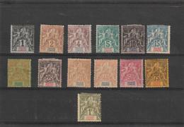 GRANDE COMORE  Type Sage  N° 1 *  à 13* - Unused Stamps