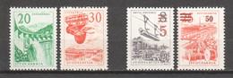 Yugoslavia 1965 Mi 1131-1132 + 1134-1135 MNH - Unused Stamps