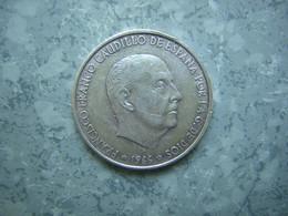 ESPAGNE - 100 PESETAS FRANCO 1966 - ARGENT - 100 Pesetas