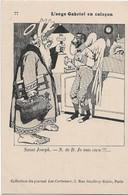 """"""" L'Ange Gabriel En Caleçon """" -- Caricature Satirique ,anti Cléricale - Collection  Journal """" Les Corbeaux """" - Satirische"""