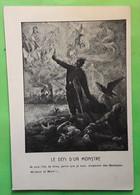 Guerre 1914 - 1918, Le Défi D'un Monstre,je Suis L'élu De Dieu Parce Que Je Suis L'Empereur Des Germains,Malheur Et Mort - Patrióticos