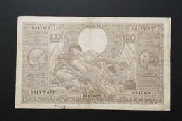 Billet 100 FRANCS Ou 20 BELGAS 07.06.33 N° 0247W677 - 100 Francs & 100 Francs-20 Belgas
