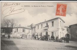 Bernis (Gard) - Le Bureau Des Postes Et Télégraphe - Sonstige Gemeinden
