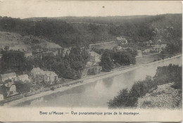 REF2336/ CP Beez S/Meuse Vue Panoramique Prise De La Montagne TP 183 C.Relais Etoile Beez 1921 > Etterbeek - Namur