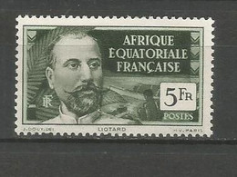 Timbre De Colonie Françaises AEF  Neuf ** N 60 - Ungebraucht