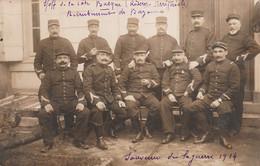 Bayonne -Carte Photo -Soldats Réserve Territoriale Recrutement De Bayonne- - Bayonne