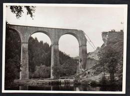 SEMENE (Guerre 1939/45) Photo Historique Du Sabotage Du Viaduc De La Semène Le 25/06/1944. - Altri Comuni
