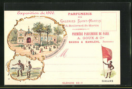 Lithographie Paris, Exposition Universelle De 1900, Bonshommes Guillaume, Gallas - Exhibitions