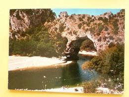 V-11-07-ardeche--pont D'arc- Admirable Travail De La Nature-- - Non Classificati
