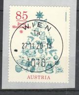 """Österreich: """"Weihnachtsbaum"""" Sk. Gestempelt (s.Foto) - 2011-... Gebraucht"""