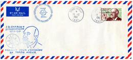 TAAF N° 19 19/12/61 1er Jour CHARCOT Missions PEV Terre Adélie - Briefe U. Dokumente