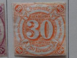 TOUR & TAXIS ETATS DU SUD 1859-1861 MICH. N° 25 * - Tour Et Taxis