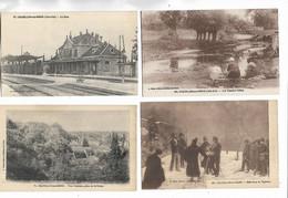 21 - Lot De 7  Cartes Postales Anciennes De CHATILLON-sur-SEINE   -. Voir La Liste Ci-dessous - Andere Gemeenten