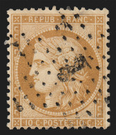 France N°36, Cérès Siège De Paris, 10c Bistre - COTE 110 € - TB - 1870 Besetzung Von Paris