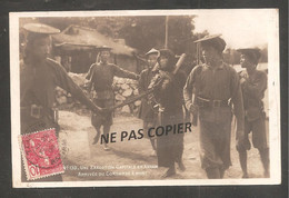 UNE EXECUTION  CAPITALE EN ANNAM  Arrivé Du Condamné à Mort        Oblit TOURANE  1909 - Vietnam
