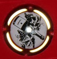 00 264 - Capsule - Plaque De Muselet - Générique - Champagne - N°712 - Or Et Noir - Otros