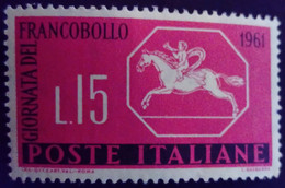 Italie Italy Italia 1961 Journée Du Timbre Giornata Del Francobollo Yvert 861 ** MNH - 1961-70:  Nuevos