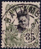 ✔️ Indochine 1907 - Femme Cambodgienne - Cachet BATTAMBANG - CAMBODGE - Yv. 50 (o) Used - Pas Commun ! - Gebruikt