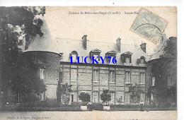 Chateau De Breau Sans Nappe Facade Nord - Autres Communes