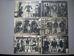 BRUXELLES - MUSEE ROYALE DE L'ARMEE - UNIFORMES - MILITARIA - UITG. TOB - SERIE DE 25 CARTES - Museos