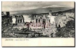 CPA Taormina Teatre Grace Celi Etna - Sin Clasificación