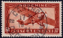 ✔️ Indochine 1933 - Poste Aerienne Cachet CANTHO - N COCHINCHINE - Yv. 7 (o) Used - Luftpost