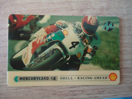 UNITED KINGDOM USED CARDS MERCURYCARD  RALLY MOTORBIKES - Moto