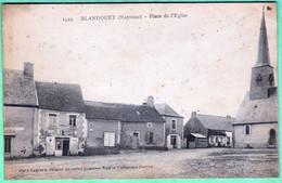 1429 - BLANDOUET - PLACE DE L'EGLISE - Otros Municipios