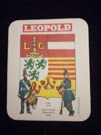 Ancien Sous Bock Leopold - Beer Mats
