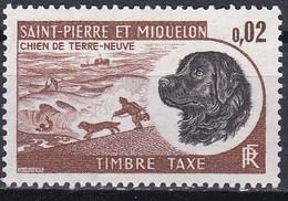 France S. P. M.  Taxe De 1973 YT 77 Neuf - Impuestos