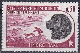 France S. P. M.  Taxe De 1973 YT 80 Neuf - Impuestos