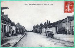 508 - SAINT LYE LA FORET - ROUTE DE PARIS - Otros Municipios
