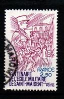 France 1981  YT 2140 Centenaire De L'école Militaire De Saint Maixent Militaria Armée - Non Classés