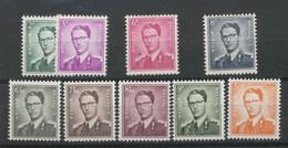 1960.* Roi Baudouin Avec Lunettes  Cote 109-euros Trace De Charnière. Spoor Van Plakker. Heel Fris - Ongebruikt