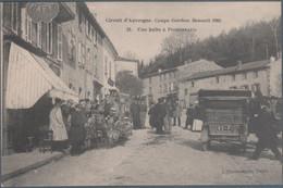 Circuit D' Auvergne , Coupe Gordon Bennett 1905 , Une Halte à Pongibeaud , Animée - Auvergne