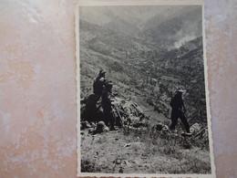 Petite Photo Guerre D' Algérie Militaires Soldats Français DJURDJURA 1800m - Oorlog, Militair