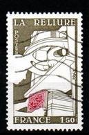 France 1981  YT 2131  Métiers D'Art  La Reliure Presse Livres - Non Classés
