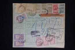 TUNISIE - Formulaire Colis Postal  De Zarzis Pour Paris Via Marseille En 1926 - L 77119 - Unclassified