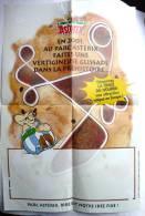 ASTERIX AFFICHE POSTER PARC 2001 LA TRACE DU HOURRA - Werbeobjekte