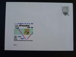 Entier Postal Stationery Volleyball Slovaquie Slovakia 1995 (ex 2) - Voleibol