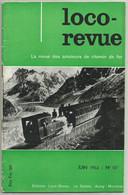 Loco Revue N°117 Juin 1953 Gare De Plouharnel-Carnac ,ligne Etel - La Trinité Modélisme Train - Trenes