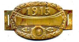 PLAQUE FISCALE VELOCYPEDE - 1913 - Revenue Stamps