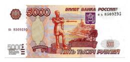 (Billets). Russie Russia. Rare. Pick 273. 5000 R 1997 N° Ab 8509295 UNC - Russie