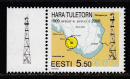Estland 2009. Leuchtturm Hara. 1 W. Pf. MNH - Estonie