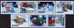 Alderney - 2020 - Christmas - Santa's Visit - Mint Stamp Set - Alderney