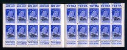 Carnet De 1939  - Tuberculose - Antituberculeux - N° 39B*SI*2  BANANIA-SIMMONS-jouets AUTO-SKIFF-TETRA-ALCOOL-LOTERIE - Blokken & Postzegelboekjes